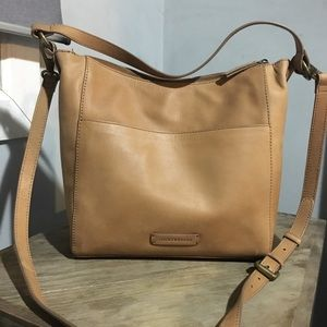 NWT Lucky Brand Whipple Leather Hobo Bag